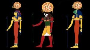 Le divinità egizie della pizza