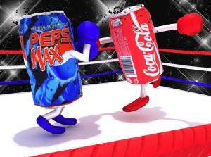 Pubblicità comparativa Coca Cola vs Pepsi