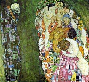 Morte e Vita- Klimt 1916
