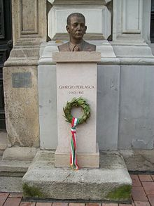 Busto di Giorgio Perlasca a Budapest