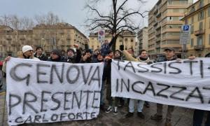Manifestazione dei tassisti contro UBER