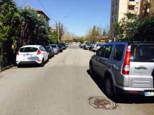 Via Minarini, strada residenziale di San Lazzaro